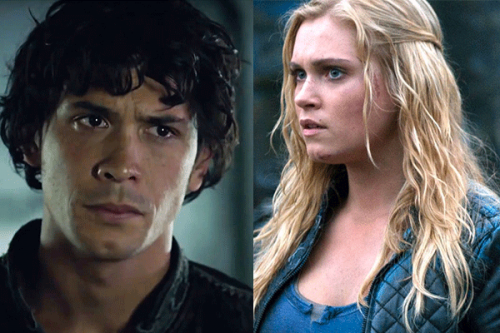 Bellamy e Clarke (The 100's)
